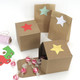 Stylish star stickers for craft projects, gift wrap finishing touches and wedding favours