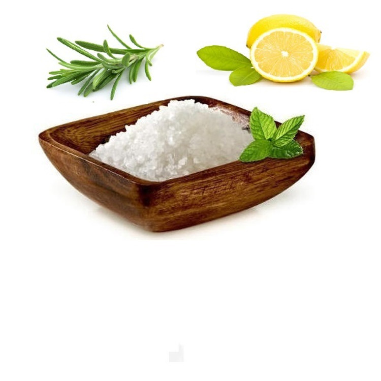 Organic Lemon & Rosemary Bath Salt
