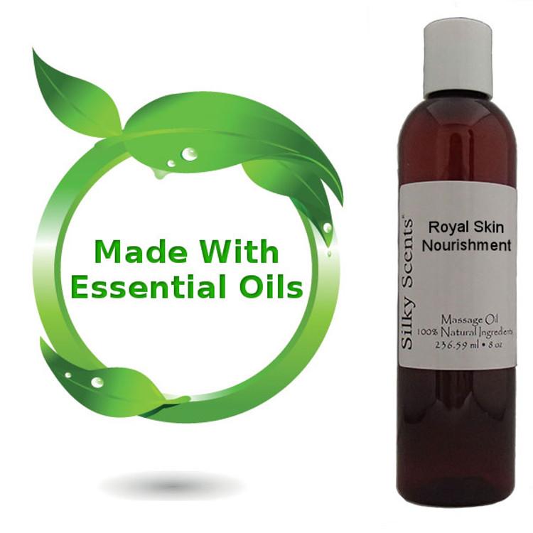 8 oz Royal Skin Nourishment Massage Oil