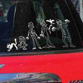 Vampire Family Car Stickers