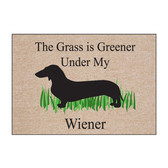 The Grass Is Greener Under My Weiner Doormat