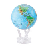 "4.5"" MOVA Globe - Blue with Relief Map"