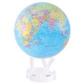 "8.5"" Globe - Blue with Political Map"