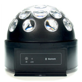 Dome LED Disco Ball with Bluetooth Speaker (Circular) | 2Shopper.com