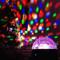 Dome LED Disco Ball with Bluetooth Speaker (Crystal)   2Shopper.com