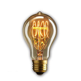 Dimmable Edison Light Bulb 40 Watt (A19 23FL)