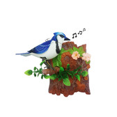 Dancing Chirping Bird - Blue Jay | 2shopper