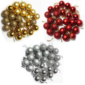 24 Pack Shatterproof Christmas Ball Ornament Set