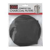 Oggi Replacement Charcoal Filters for Compost Pails, Set of 2
