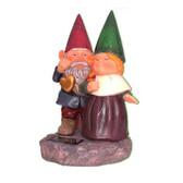 Gnomes Holding Hearts Solar Light
