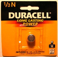 Aimpoint Duracell Battery, Fits Comp M Series Sights DL 1/3N, 3V Lithium