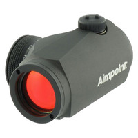 Aimpoint Micro H-1 Red Dot Sight, 2moa Dot, w/o Mount