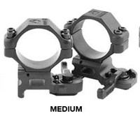 A.R.M.S. #22M Medium Height Throw Lever 30mm Scope Rings