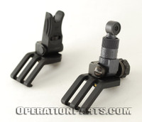 KAC-Knight's Armament 45 Degree Offset Micro Front and Rear Sight Set