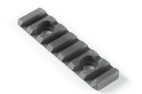 KAC-Knight's Armament URX 3.0 & 3.1 8 Rib Rail Section Kit, Black Aluminum