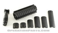 KAC-Knight's Armament RAS M4 Carbine Rail Adapter System, Mil-Pack