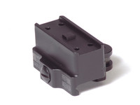 American Defense Mfg. Aimpoint Micro One Piece Mount, Co-Witness Height, Std. Lever, Black