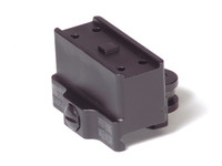 American Defense Mfg. Aimpoint Micro One Piece Mount, SOCOM Height, Std. Lever, Black