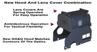 "GG&G Hood & Flip Up Lens Covers For EOTech 516,517 With ""Zombie Killer"""