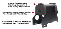 GG&G Hood & Flip Up Lens Covers For EOTech 553,555