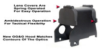 "GG&G Hood & Flip Up Lens Covers For EOTech 553,555 With ""Front Toward Enemy"""