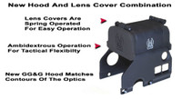 GG&G Hood & Flip Up Lens Covers For EOTech 556,557