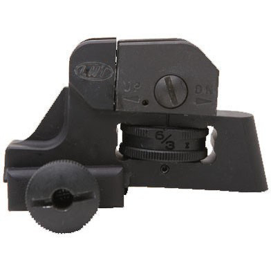 LMT-Lewis Machine & Tool Tactical Adjustable Rear Sight (L8A)