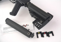 "Vltor 5 Position Receiver Extension And Storage Compartment Assembly, Fits ""Sheet Metal"" Ak47 Receivers Only, Mil-Spec"
