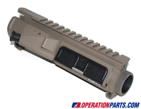 Vltor Modular Upper Receiver, W/Bolt Assist/Shell Deflector, FDE/Tan