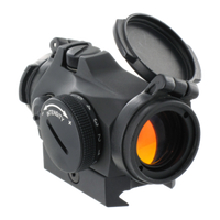 Aimpoint Micro T-2 Red Dot Sight, 2 MOA Dot, With Mount