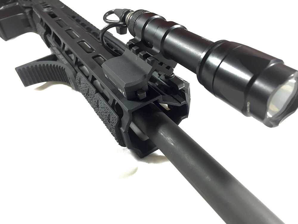 Kinetic Development Kinect MLOK Universal Picatinny/Surefire Offset Mount