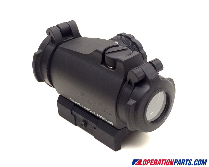 Aimpoint Micro H-2 Red Dot Sight, 4 MOA Dot, With Mount (200183)