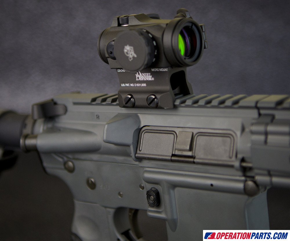 Aimpoint Micro H-2 Red Dot Sight, 2 MOA Dot, No Mount (200186)