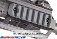Magpul M-LOK™ Aluminum Rail Section, 7 Slots