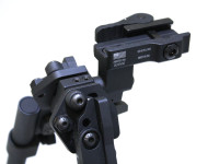 American Defense Mfg. AD-190 GG&G Bipod Mount, Tactical Lever, Black