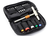 Fix It Sticks-1 T-Way Wrench, 65, 45, 25, 15 In-Lb Torque Wrench Set, Deluxe Pouch