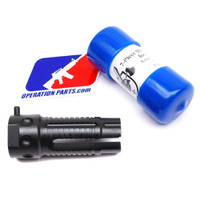 KAC-Knight's Armament 5.56mm QDC 3 Prong Flash Hider, New Takeoff