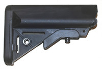 LMT-Lewis Machine & Tool Sopmod Buttstock, Stock Only-Takeoff From SR-15 Rifle