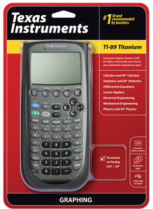 TI-89 Titanium Calculator Single