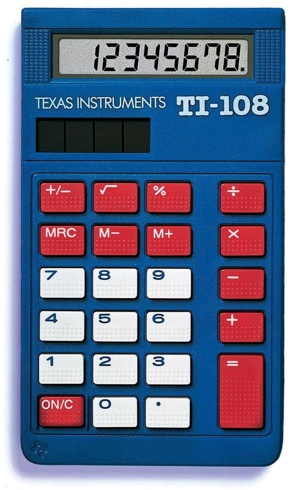 TI-108  4-Function Calculator Teacher Kit