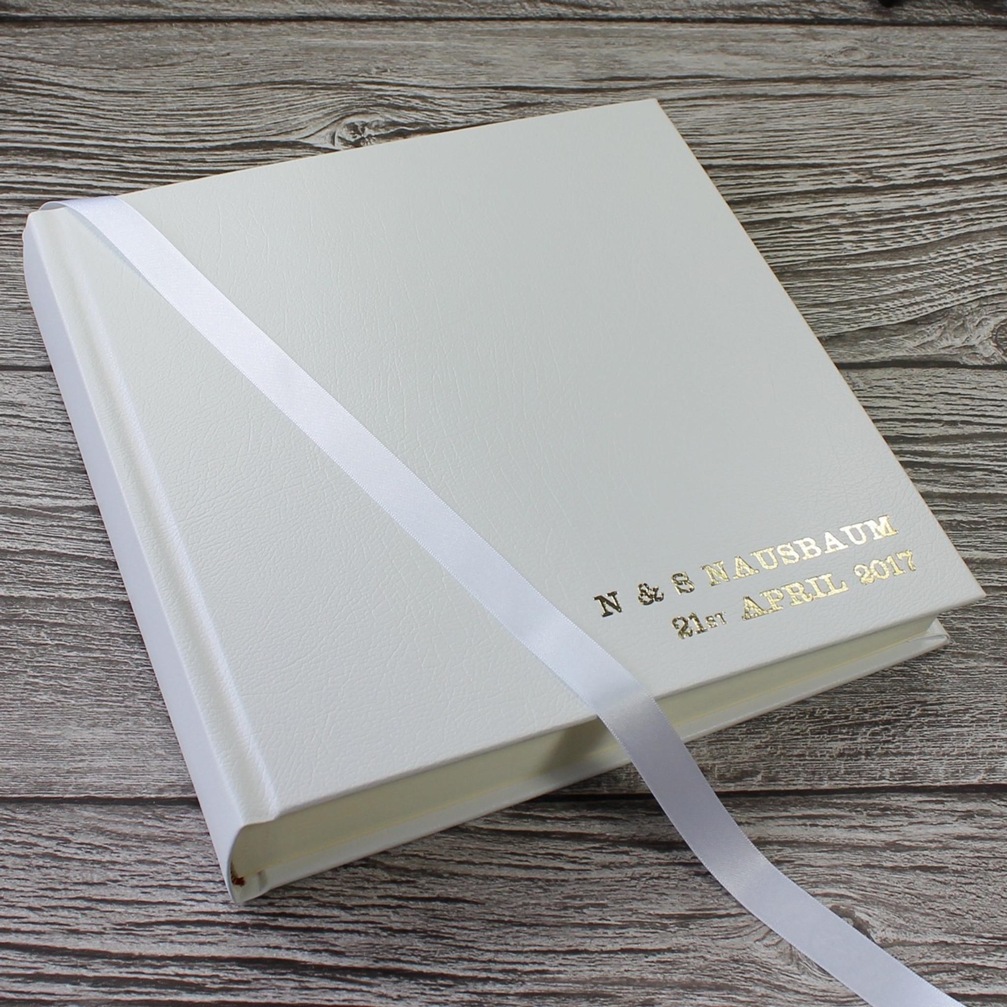 classic white leather wedding photo album white leather. Black Bedroom Furniture Sets. Home Design Ideas