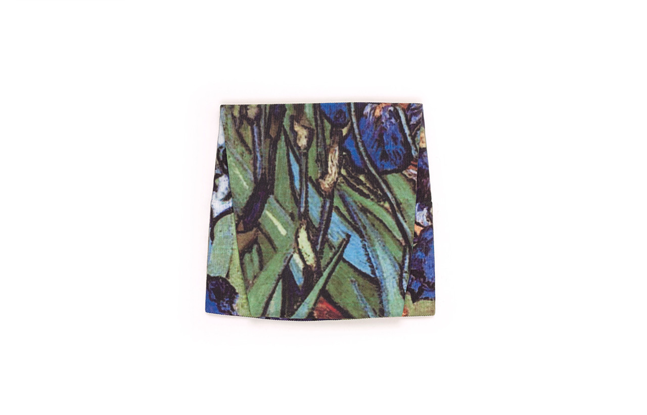 Irises Pattern Swatch