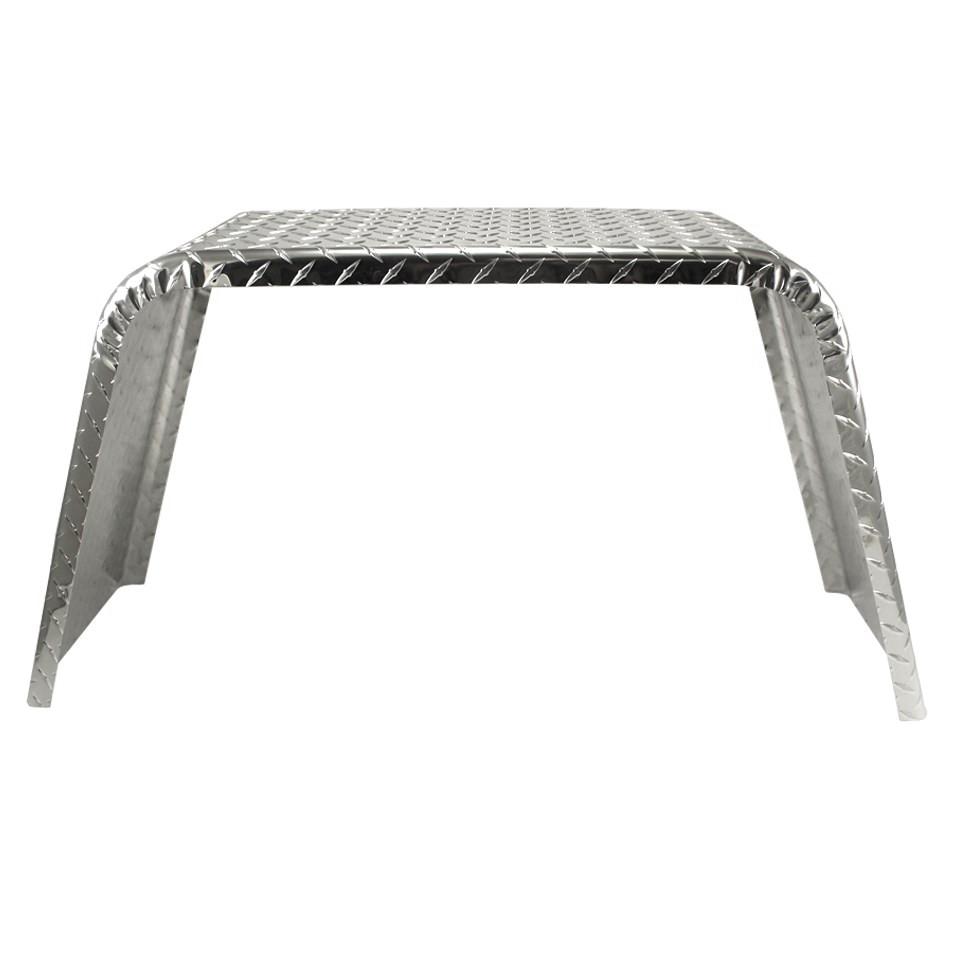 Aluminum Trailer Fenders : Single axle jeep style utility aluminum tread plate