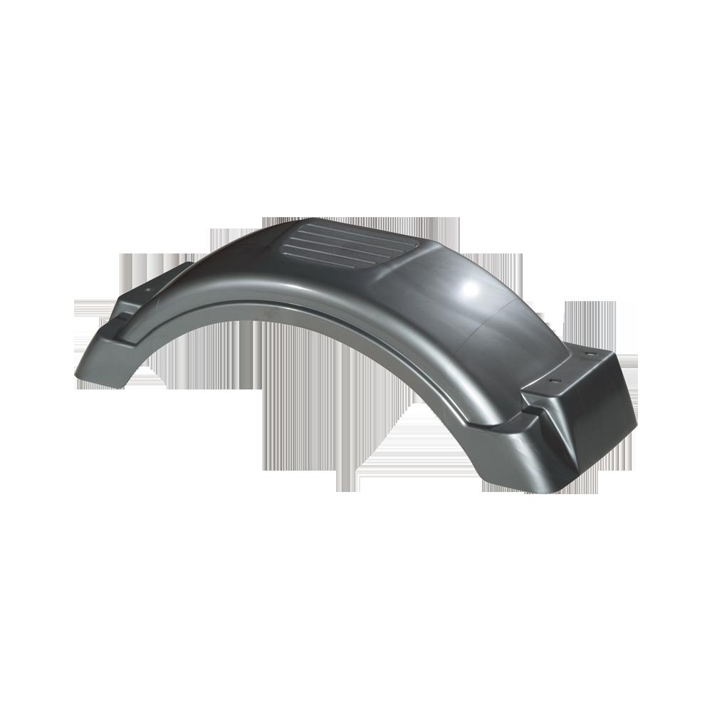 Plastic Trailer Fenders Tandem : Fulton silver plastic trailer fender quot tire size