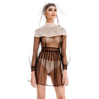 Transparent Nun Outfit