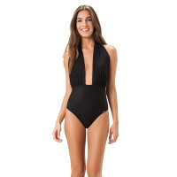 Cross One Piece Swimsuit