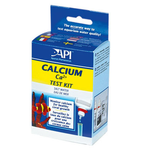 Api calcium test kit for saltwater aquariums shark and reef for Saltwater fish tank kit