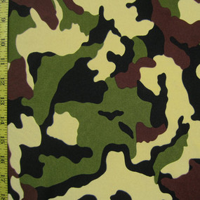Traditional green camoflauge