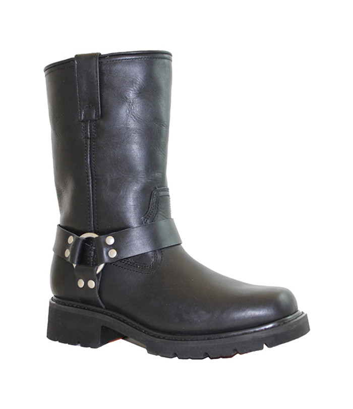 1446 Mens Waterproof Harness Biker Boot