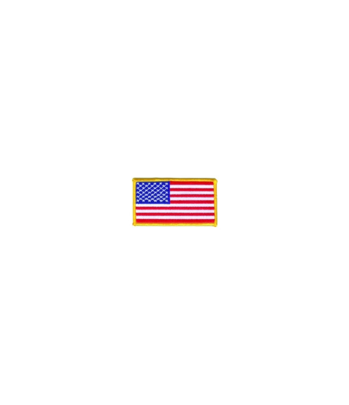 702 American Flag Patch